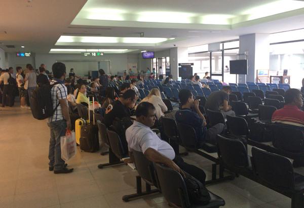 国際線の待合ホール