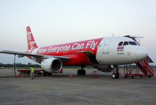 タイ・エアアジアのエアバスA320型機