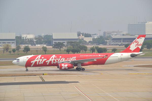 タイ・エアアジアXのエアバスA330-300型機