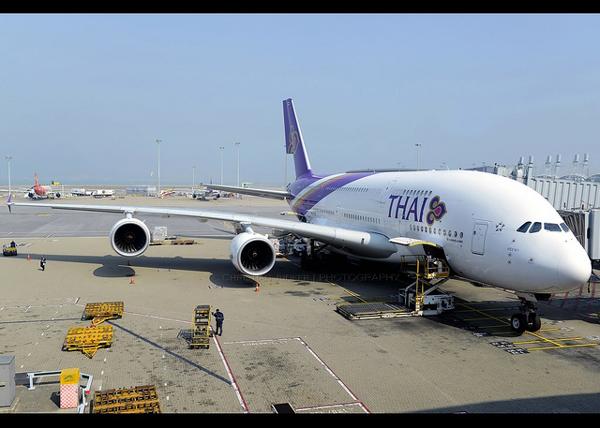 タイ国際航空 エアバスA380型機