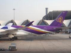 タイ国際航空機