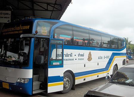 タイ・ラオス国際路線バス