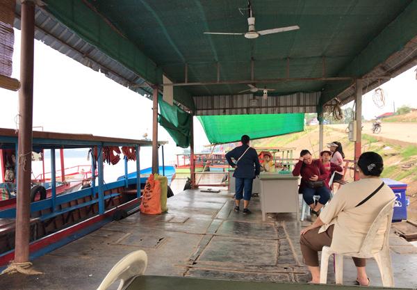 パークサンの船着き場