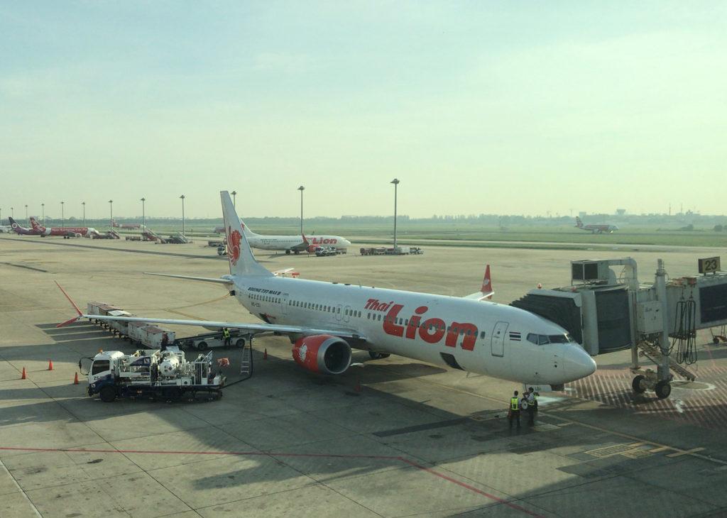 タイ・ライオンエアの737MAX9型機