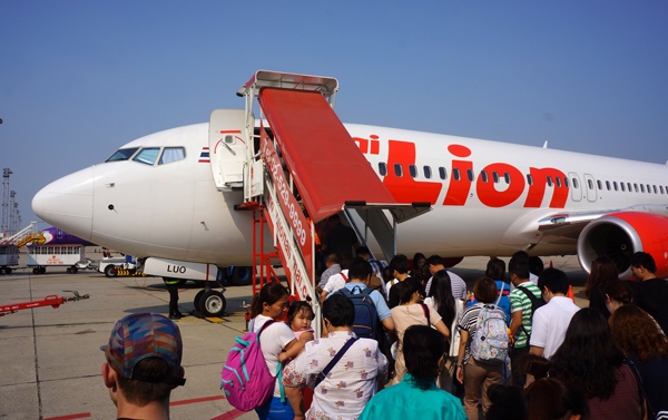 タイ・ライオンエアのボーイング737-800