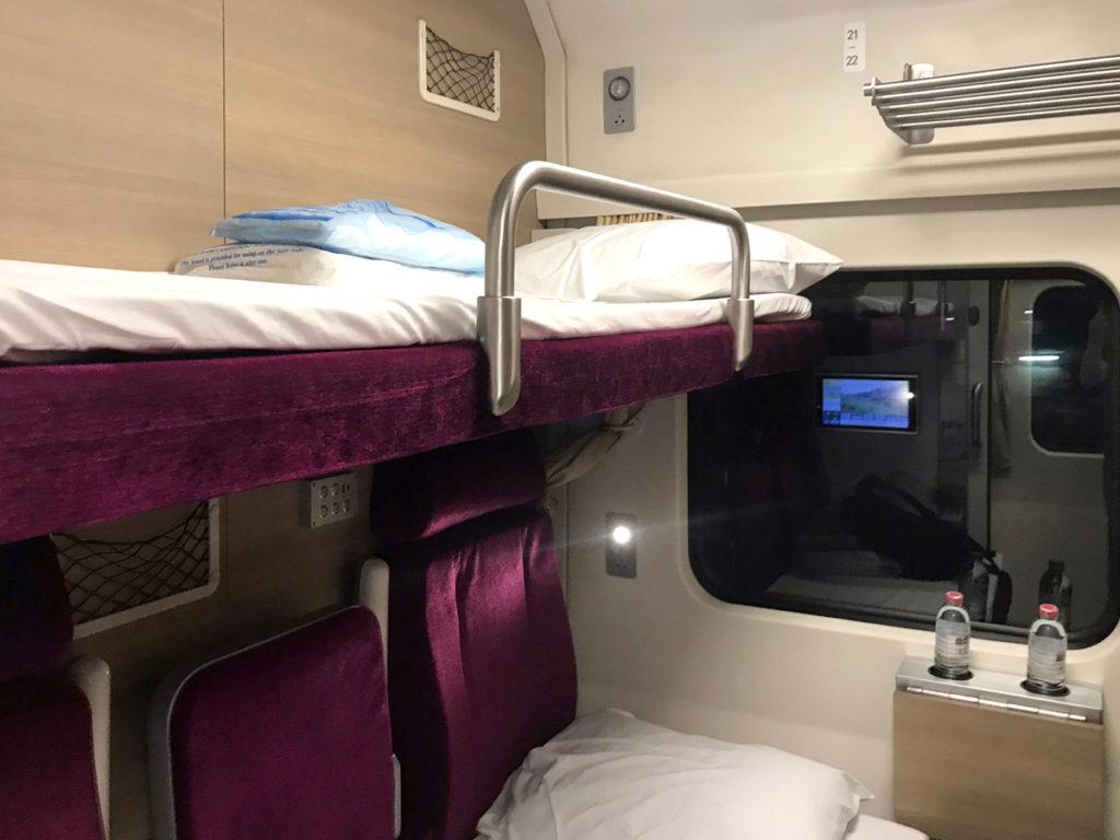 タイ国鉄の新型1等寝台