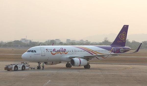 タイ・スマイルのエアバスA320型機