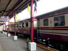タイ国鉄の3等列車