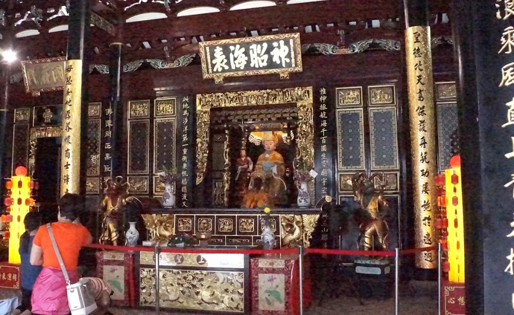 シアンホッケン寺院の天后聖母