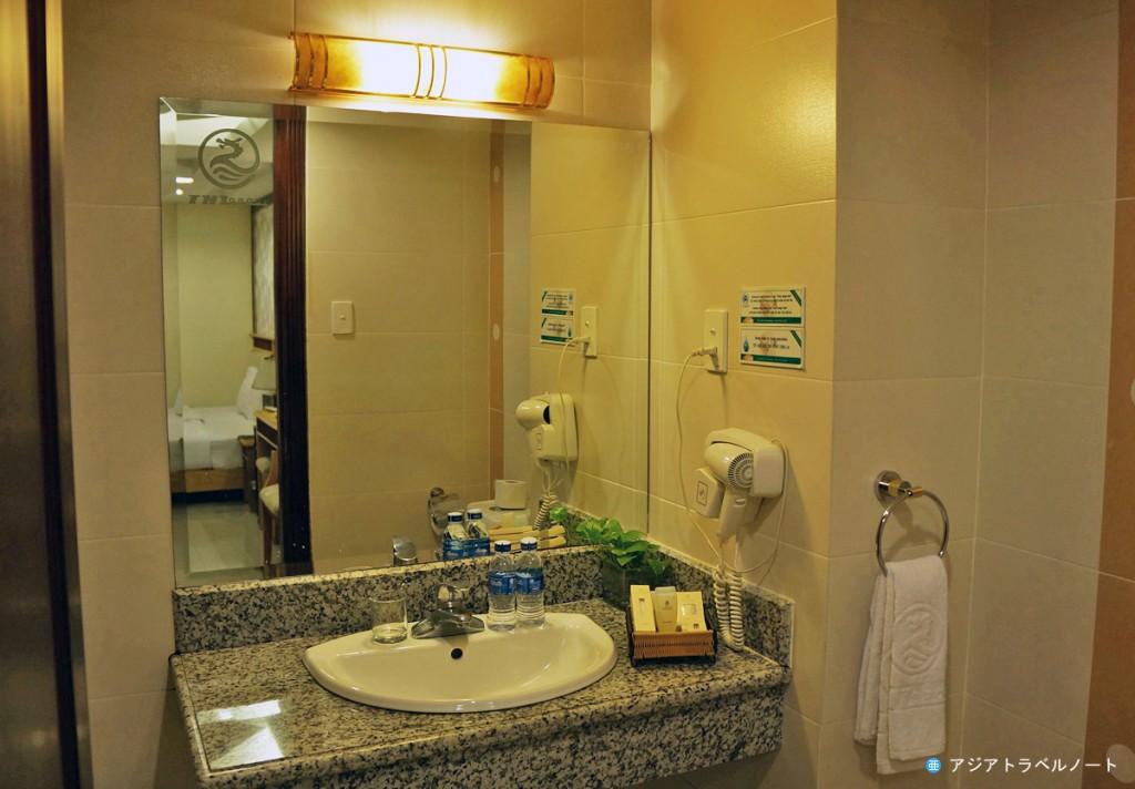 タンハイロンホテルのバスルーム