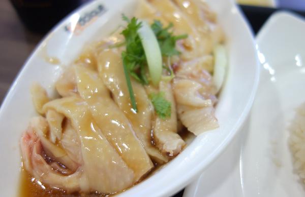 天天海南鶏飯のチキンライス
