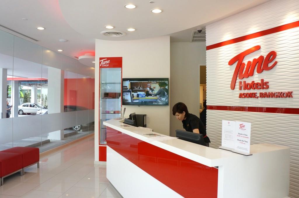 チューンホテル・アソーク・バンコクのフロント
