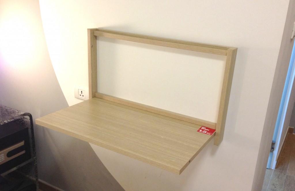 収納式簡易テーブル