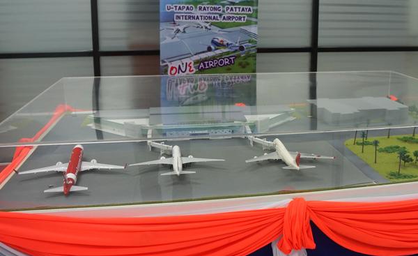 新ターミナル完成予想模型