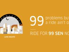 Uber クアラルンプールで格安プロモーション