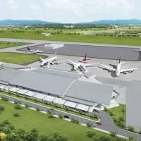 ウタパオ空港の新ターミナル