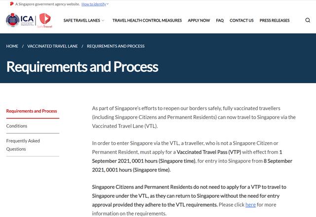 SafeTravel - Singapore より