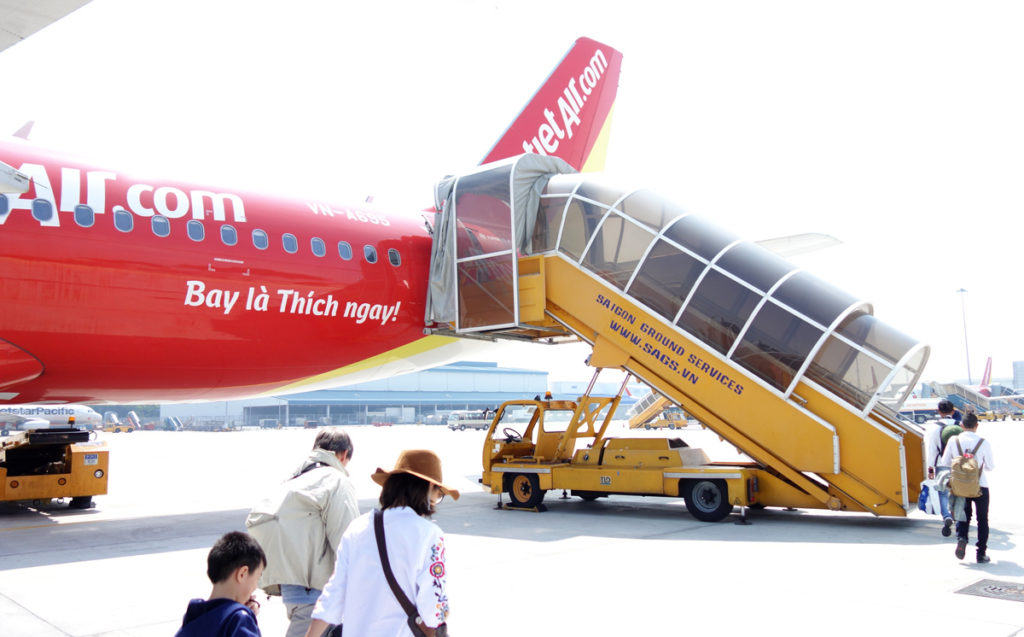 ベトジェットエアのエアバスA320型機