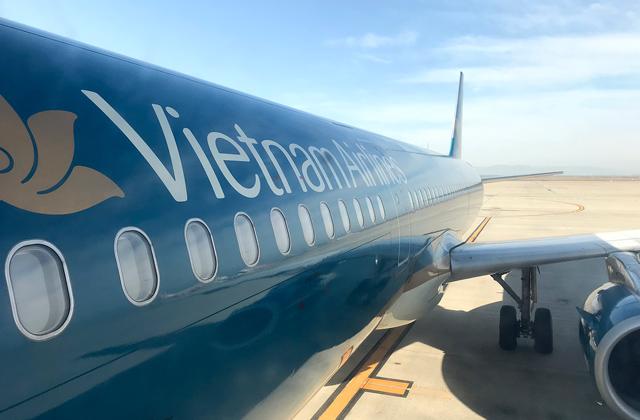 ベトナム航空のエアバスA321型機