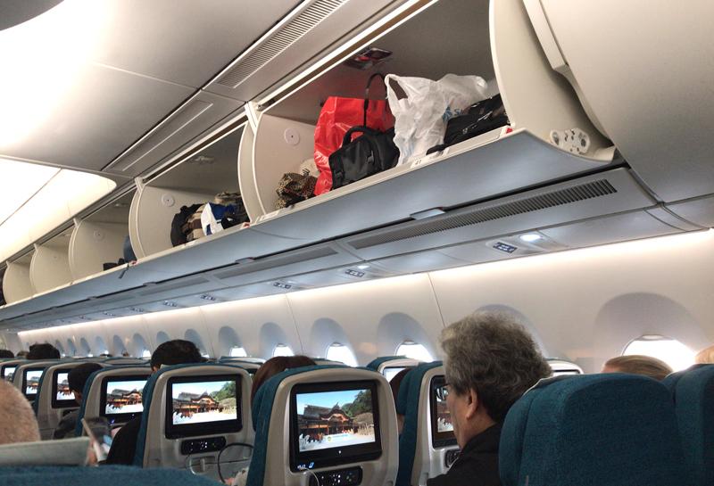 ベトナム航空機内の様子