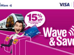 KLIAエクスプレス Visa payWaveプロモーション