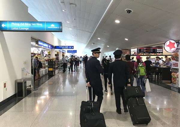 タンソンニャット空港のエアサイド