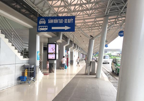タンソンニャット国際空港の国内線ターミナル