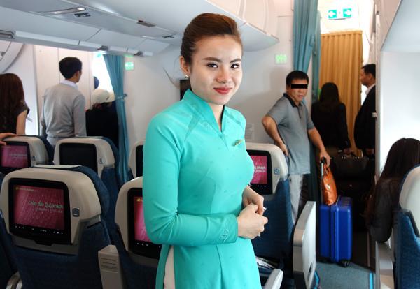 ベトナム航空の客室乗務員