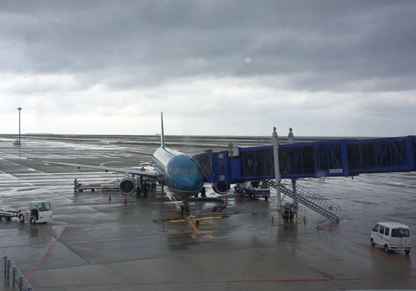 セントレアの駐機場