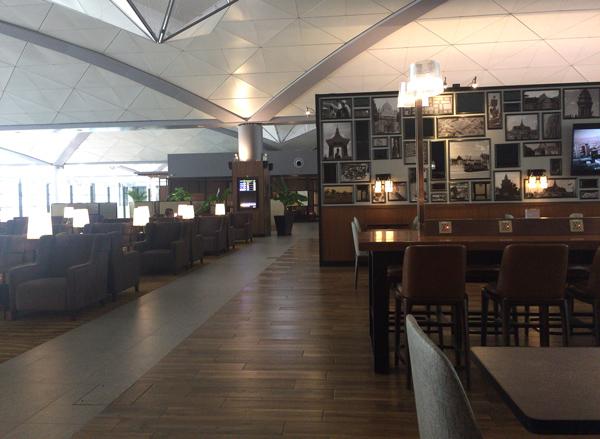 プノンペン国際空港内のプラザプレミアムラウンジ