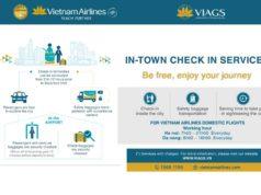 ベトナム航空のインタウンチェックインサービス