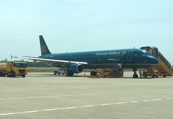 ベトナム航空 エアバスA321-200型機