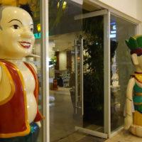 レックスホテルの水上人形劇