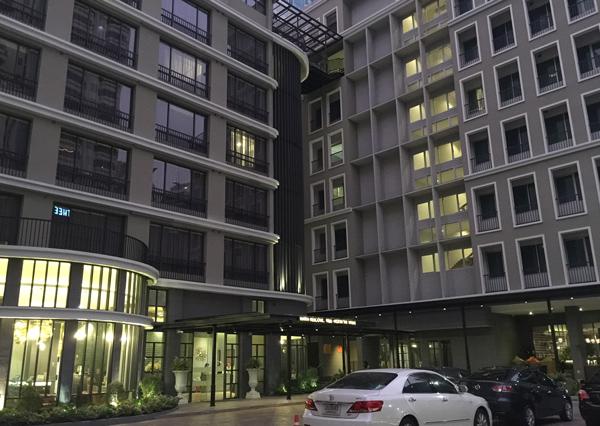 ウェルホテル・バンコクの外観
