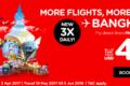 タイ・エアアジア、バンコク―プノンペン線を1日3便に増便