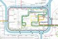 アユタヤのバスやソンテウの路線図・走行ルートをチェックできる地図