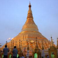 ヤンゴンのシュエダゴン・パヤー
