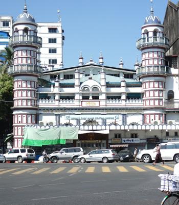 ヤンゴンのモスク