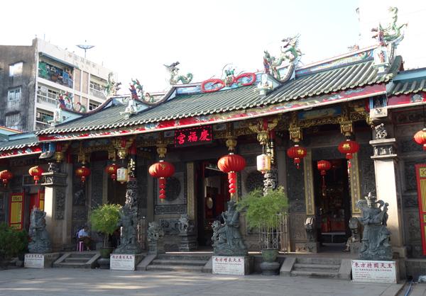ヤンゴンの慶福宮