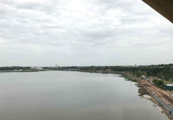 南方向の眺望