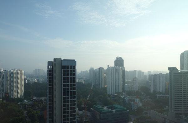 21階の客室からの眺め